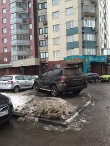 ТСЖ Олимп / Москва / Парковка